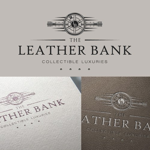 Design a Logo For A Men's Vintage Luxury Fine Leather Luggage and Bags Company