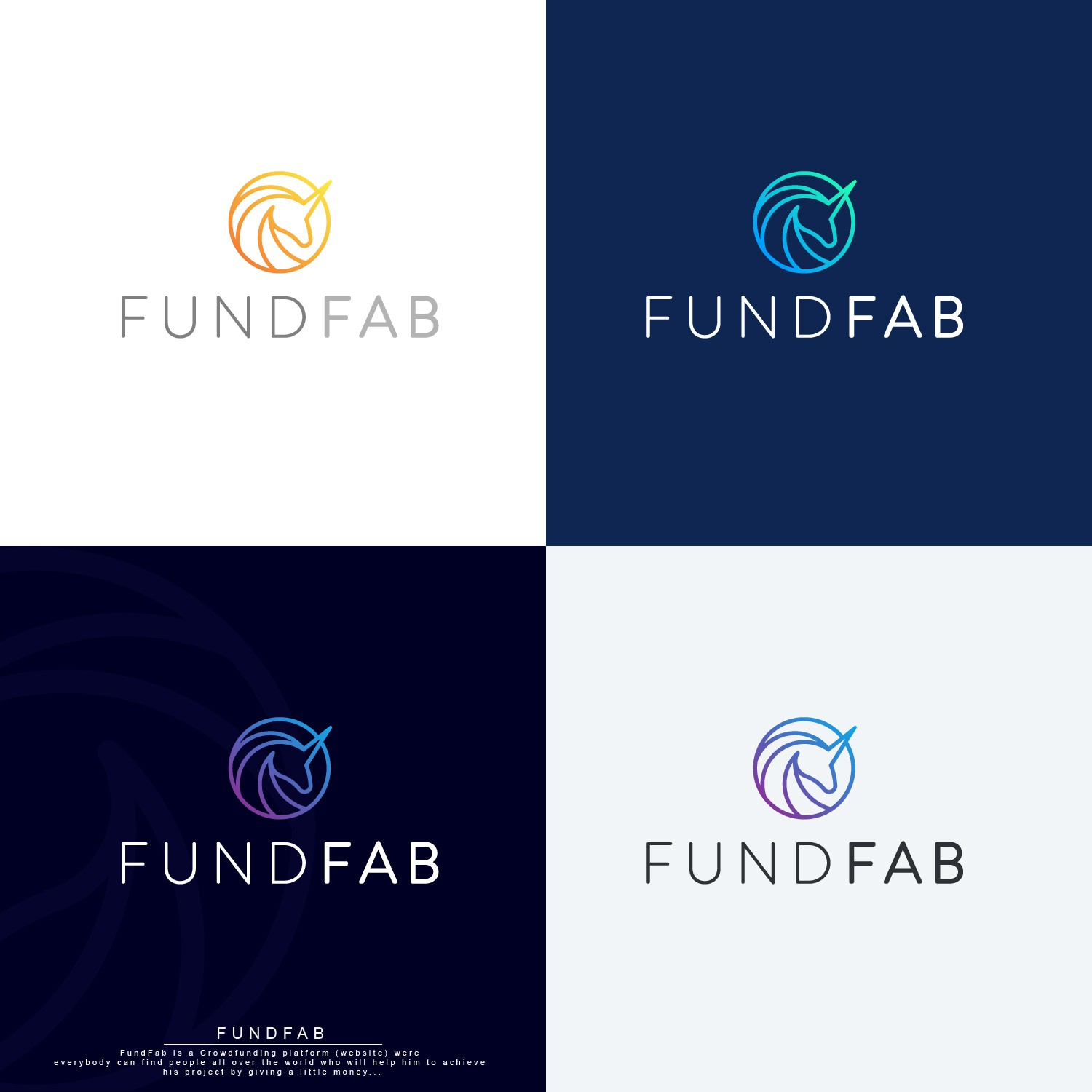 Create the new logo of FundFab (crowdfunding website) !