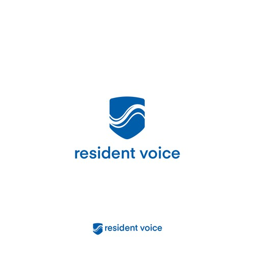 Logo concept for resident voice apps.