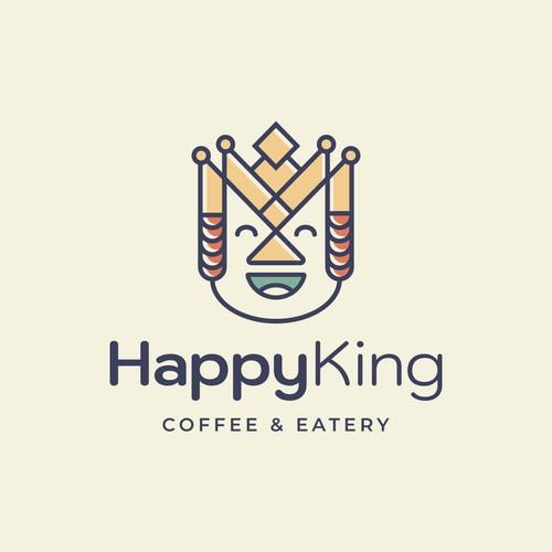 Happy King Logo