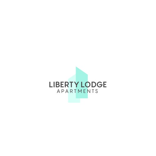 simple and abstract apartments logo design