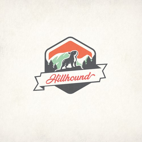 Outdoorsy logo for Hillhound Productions.