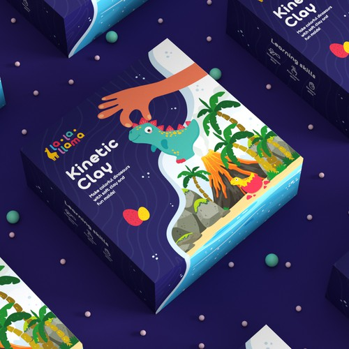 Toy brand packaging