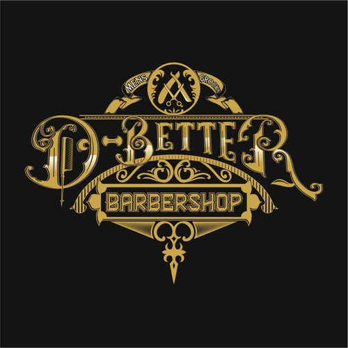 Vintage And Luxury With Hand Drawing Logo