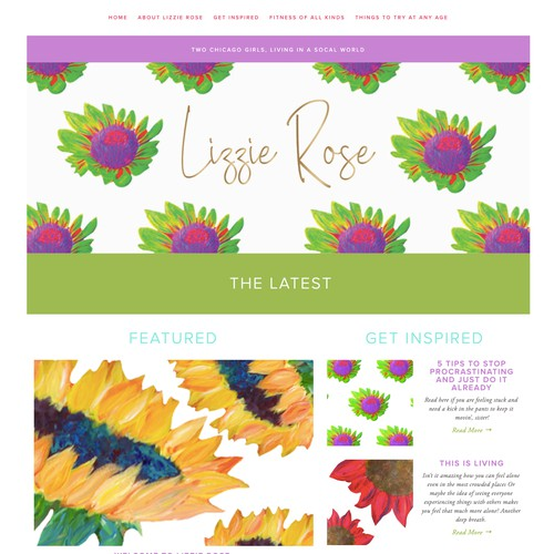 Lizzie Rose Blog and Shop