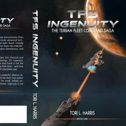 Book Cover for author Tori L. Harris