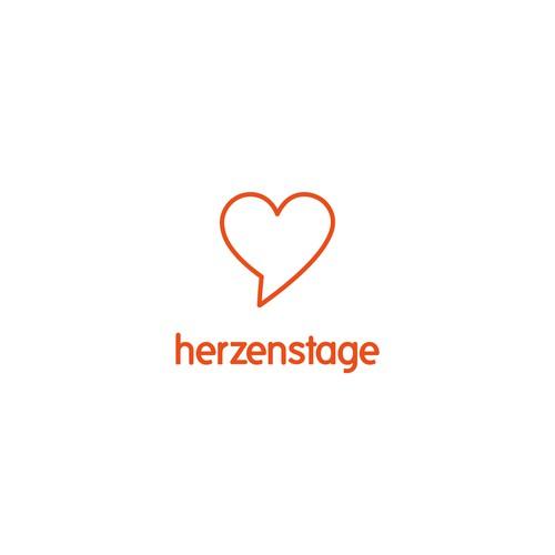 Logo-Design für ein digitales Festival zum Thema Liebe