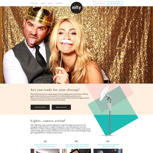 Awesome new photo booth rental company