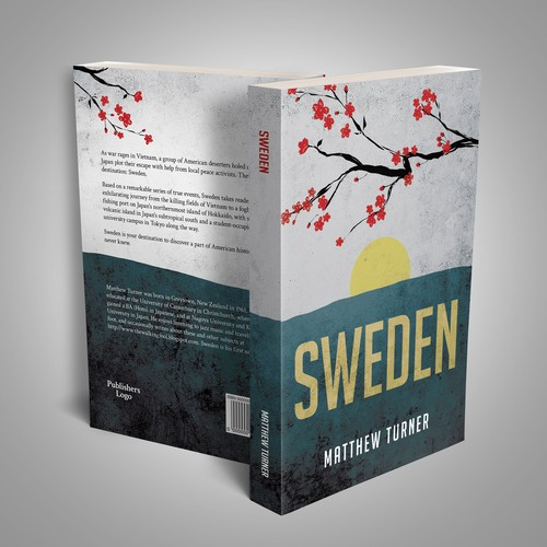 Book Cover Design Entry for Sweden by Matthew Turner