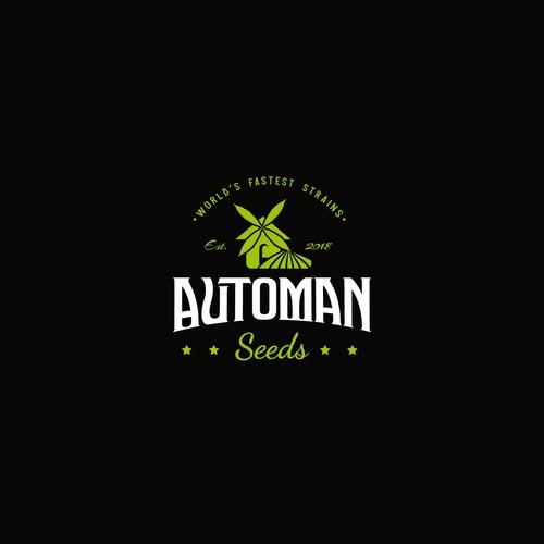 Logo for auto cannabis seeds company