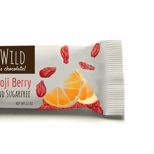 Product label for chocolate bar