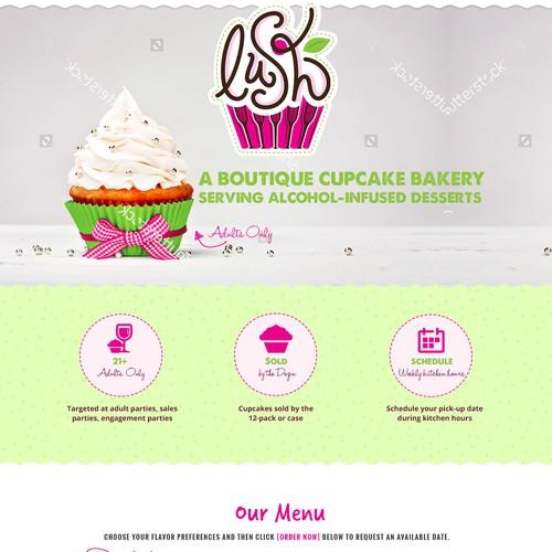 Lush Cupcakes