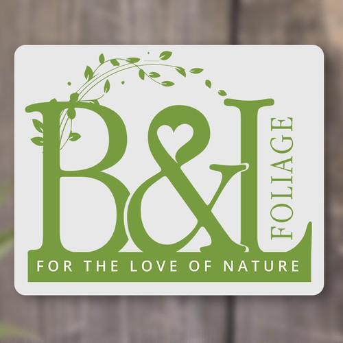Create an eye catching logo for a plant nursery