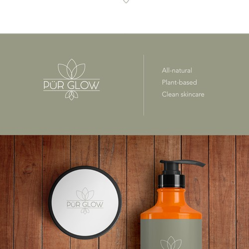 Logotype for organic showering products
