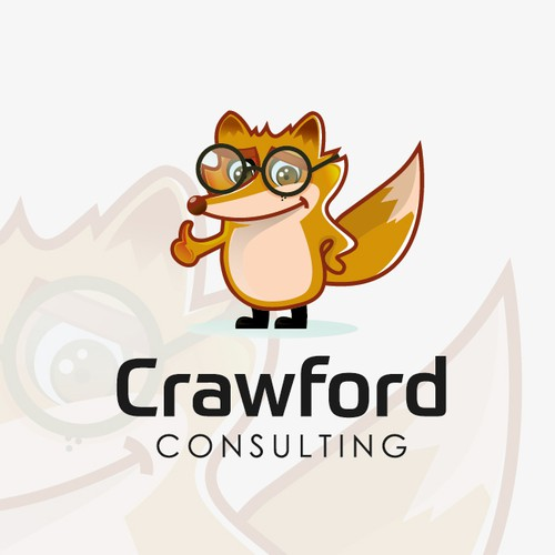 mascot logo for Crawford Consulting