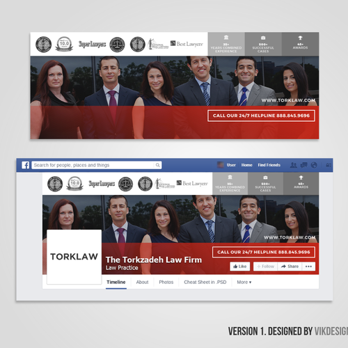 Facebook Cover for TorkLaw