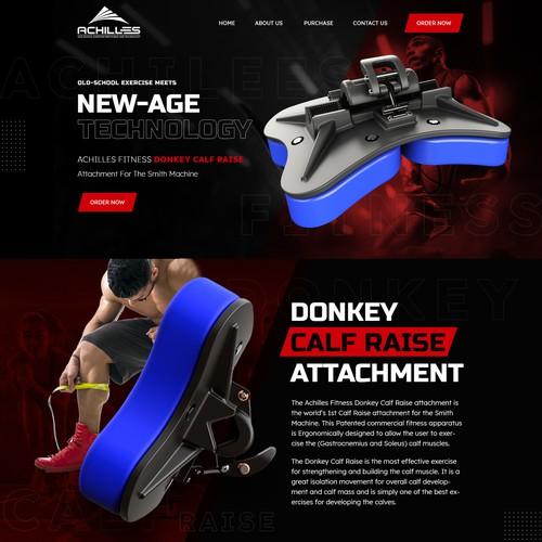 Webpage Design Donkey Calf Raise