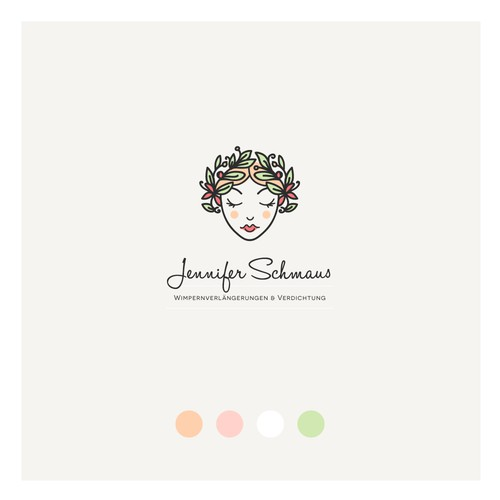 Jennifer Schmaus studio - modern logo