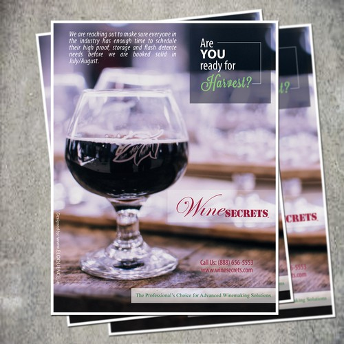 wine secrets flyer