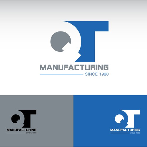Help QT Manufacturing with a new logo