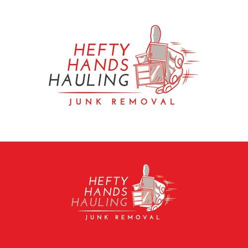 Hefty Hands Hauling Logo Contest Winner