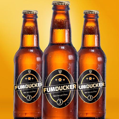 Fumducker Beer logo concept