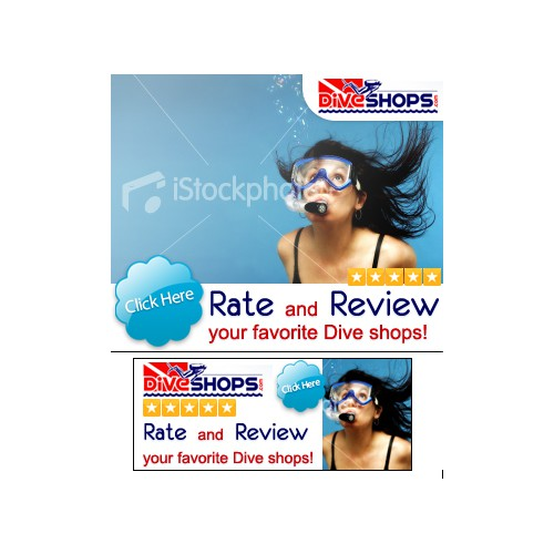 Online Banner Ads for Dive Shops.com