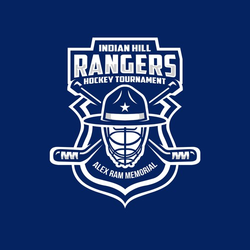 Bold logo for Indian Hill Rangers Hockey Tournament