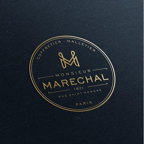 monogram logo for luxury brand