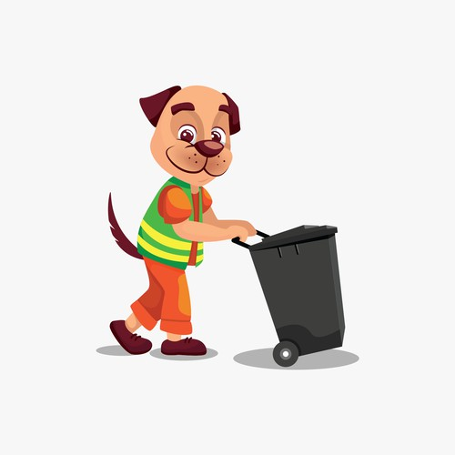 The dustman dog