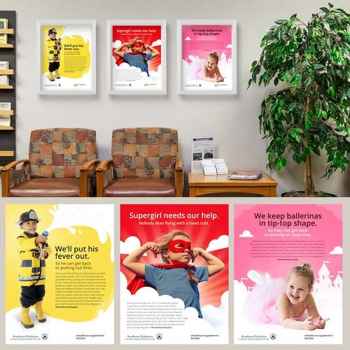 Banner Ads for A Pediatric Hospital