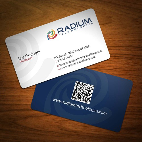 Help Radium Technologies with new stationery