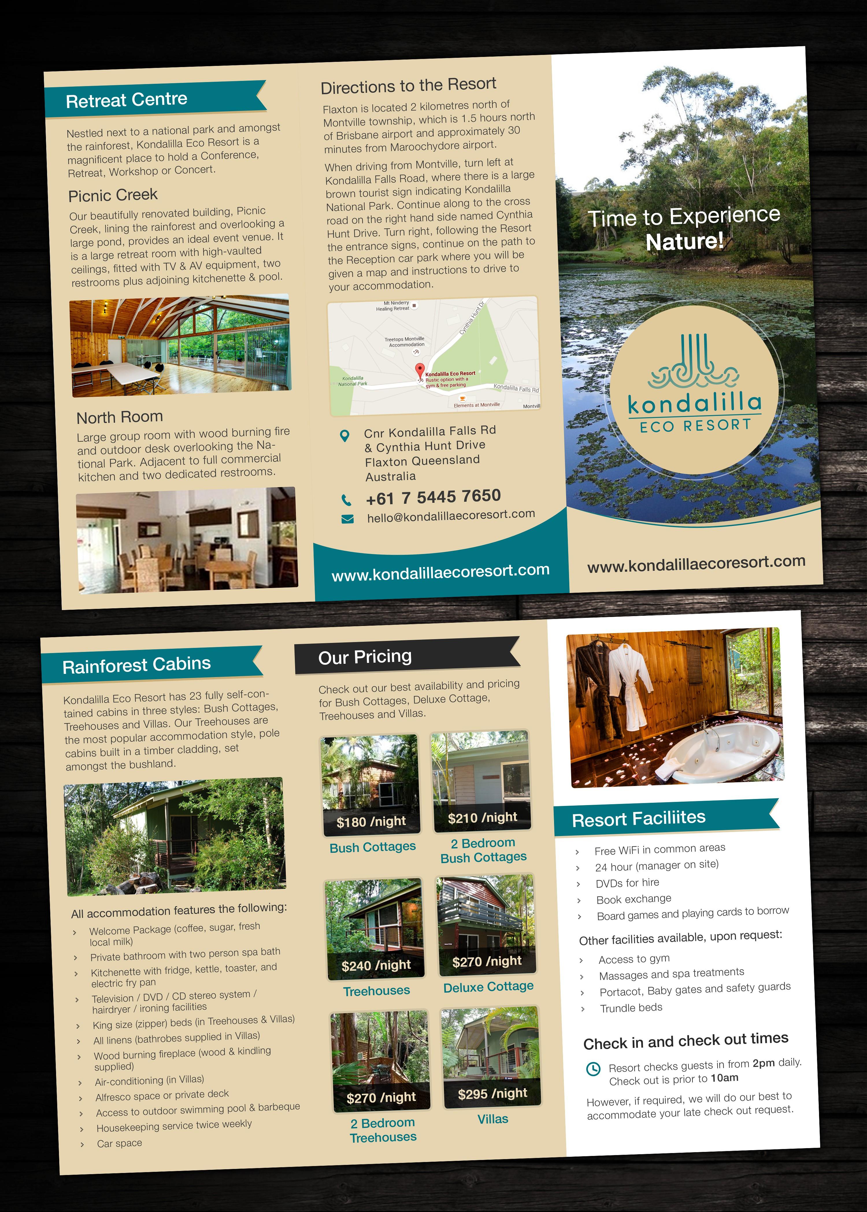 KER Brochure, Business Card & Sticker