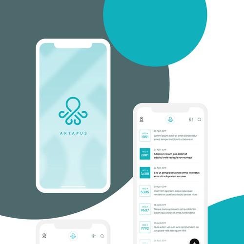Task Management App Ui Design for Aktapus