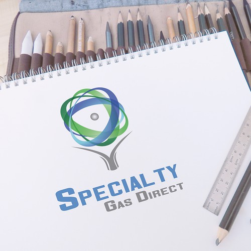 Modern Logo for eco gas company