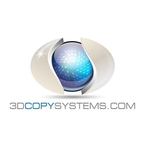 3D logo concept