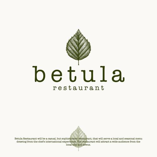 Logo design for Betula Restaurant