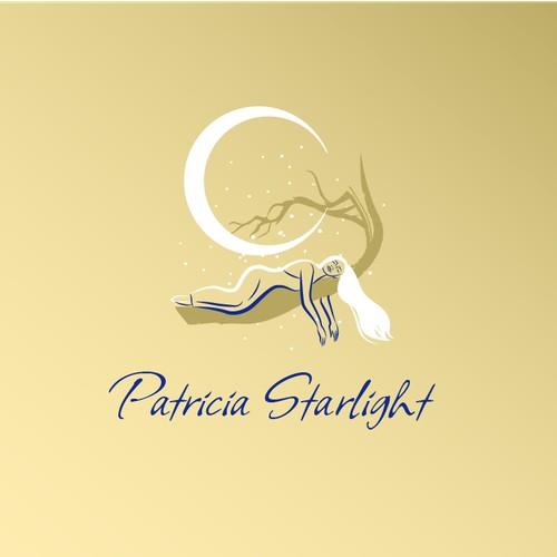 Mystical logo concept for Patricia Starlight