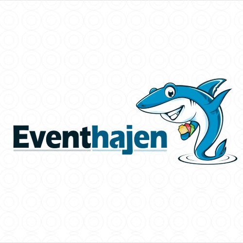 Create an awesome logo with a shark for Eventhajen (Eventshark)
