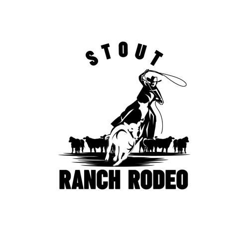 Stout Ranch Rodeo logo