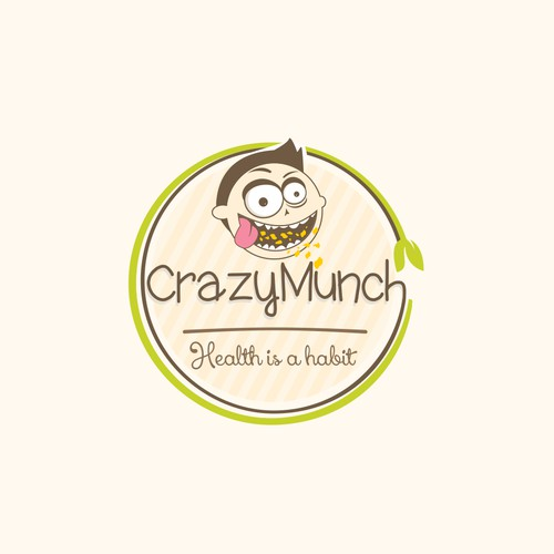 Logo for crazymunch