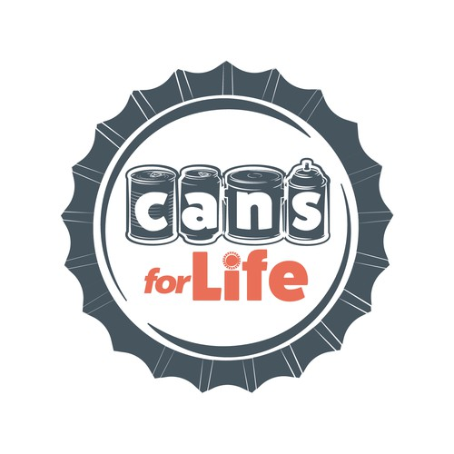 Logo creation for company recycling cans.