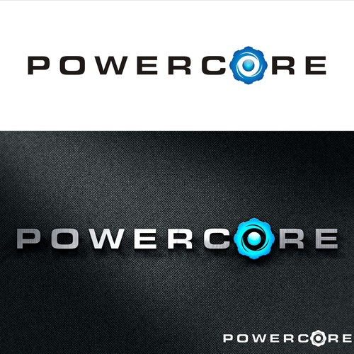 Create a Powerful Logo with a strong core for Powercore