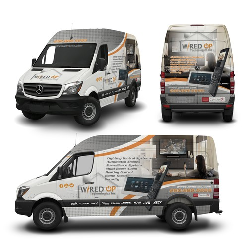 Vehicle Wrap for Wired Up Technologies