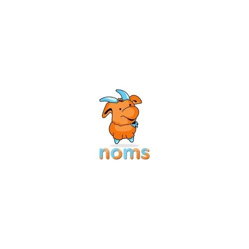 logo concept for noms