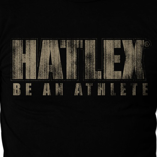 T-shirt for Sport Performance: high-impact font needed -Gold+Guaranteed
