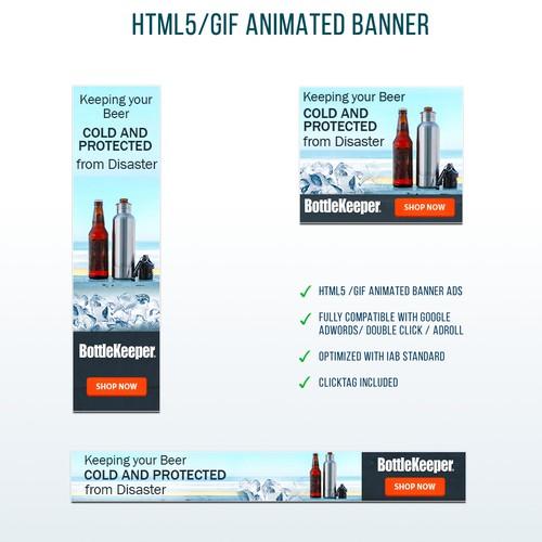 Banner Ads for BottleKeeper