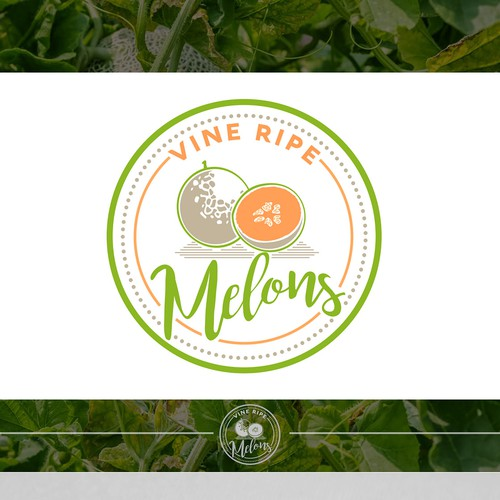 Vine Ripe Melons for H.M Clause