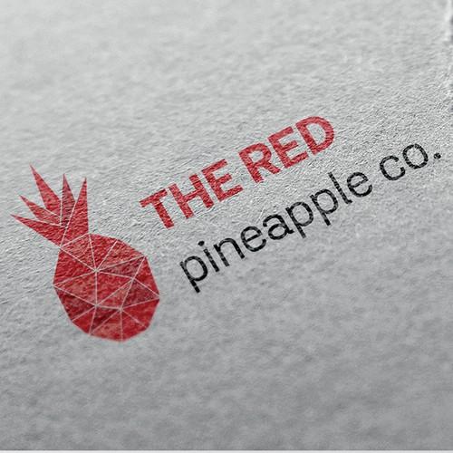 Red pineapple logo