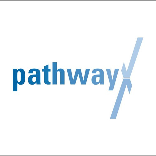 Create a modern logo for Pathway - a tech savvy financial advisor with a focus on simplicity